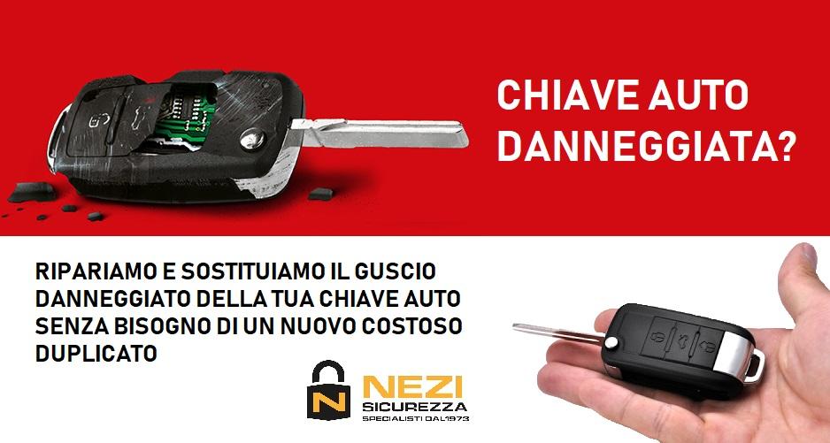 guscio chiave auto nezi sicurezza